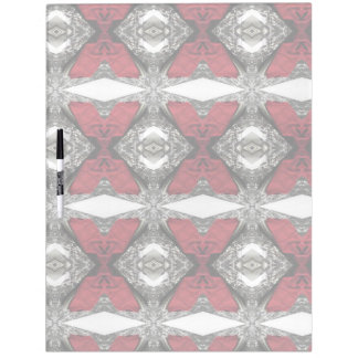 Red Lens Pattern Dry Erase Whiteboards