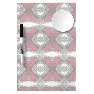 Red Lens Pattern Dry Erase Boards