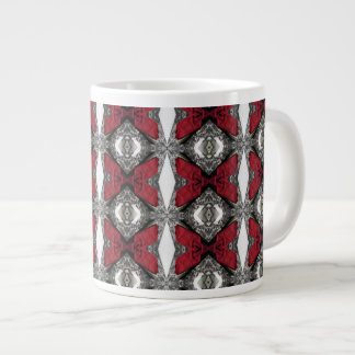 Red Lens Pattern Large Coffee Mug