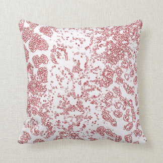 Red Leopard Pillow in Many Styles/Sizes