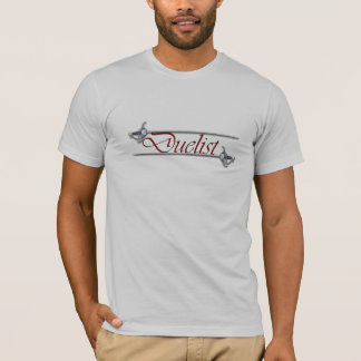 Red Letter Duelist Fencing T-shirt