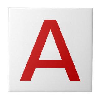 Red Letter Tiles