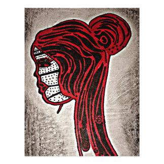 Red Letterhead