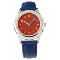 Red Liberty Wrist Watch