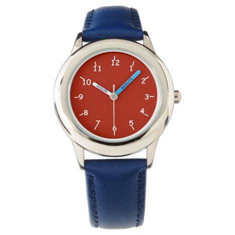 Red Liberty Wrist Watch