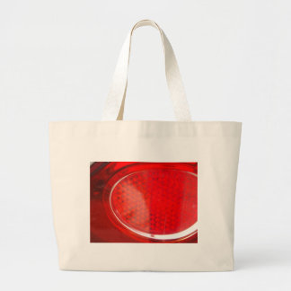 Red light abstract large tote bag