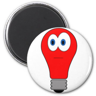Red Light Bulb Magnet