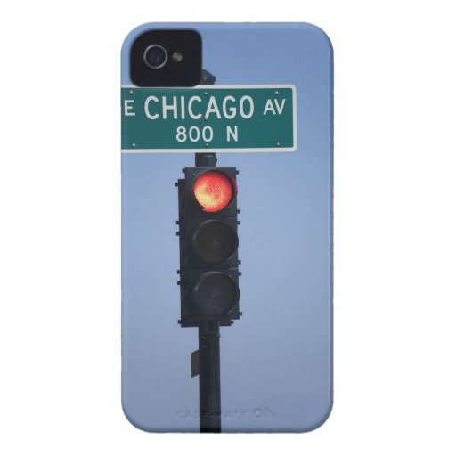 Red light, Chicago Illinois, USA Case-Mate iPhone 4 Case