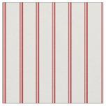 [ Thumbnail: Red & Light Cyan Pattern Fabric ]
