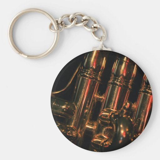 Red Light Jazz Keychain