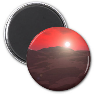 Red Light of Day Magnet