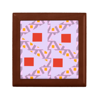 red light orchid violet orange mixed triangles trinket boxes