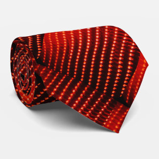 Red Light Strings Broadway Vegas Marque Neck Tie