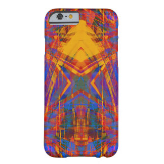Red light trails pattern barely there iPhone 6 case