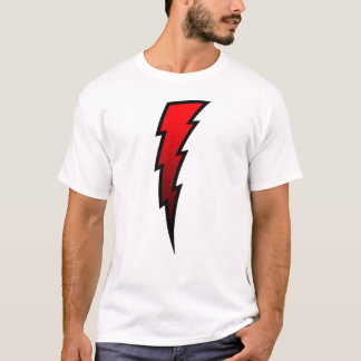 Red Lightning Bolt T-Shirt