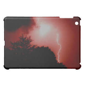 Red Lightning Cover For The iPad Mini