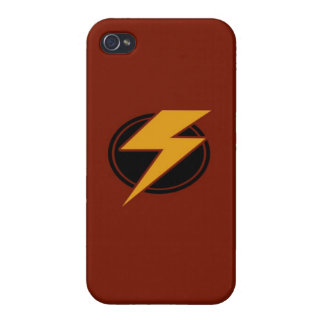 Red Lightning - iPhone 4 Case