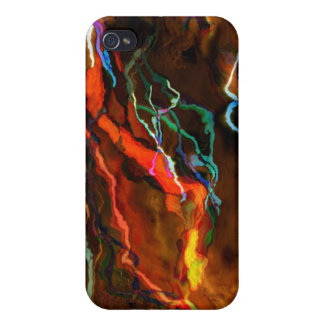 Red Lightning Strikes Covers For iPhone 4
