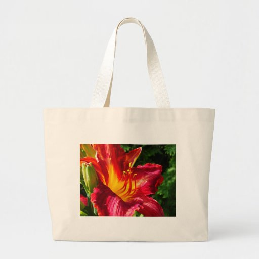 Red Lily Photograph Bags