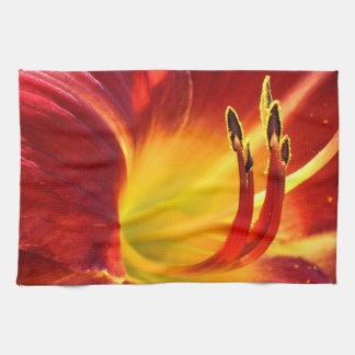Red Lily Towel