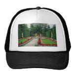 Red Lindenhof Castle, Bavaria, Germany flowers Trucker Hat