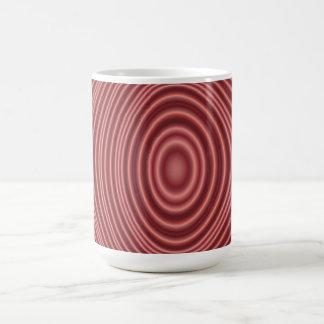 Red Line Pattern Mug