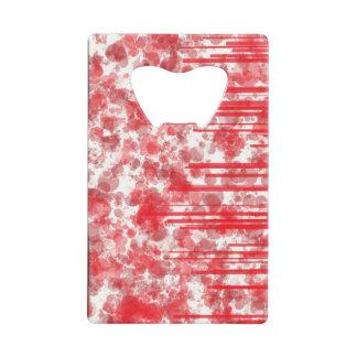 Red Line Splash Card Opener
