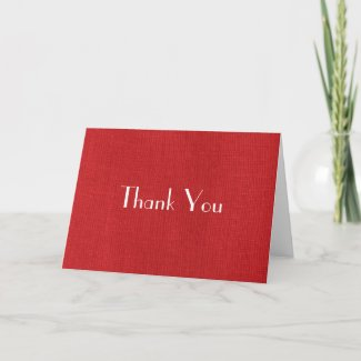 Red Linen Fabric Texture card