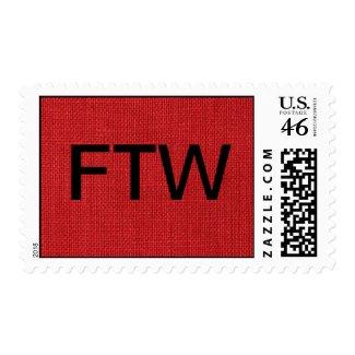 Red Linen Fabric Texture – Medium stamp