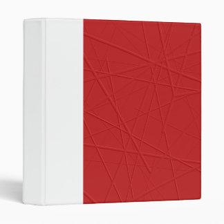 Red Lines Binder