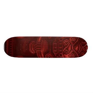 Red Lion Dog Pixel Art Skateboard