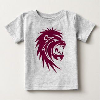 Red lion head baby T-Shirt