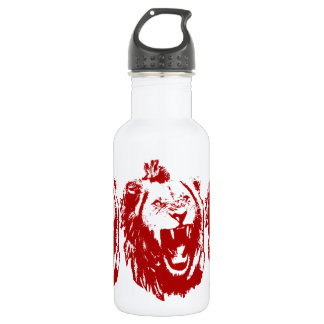 Red Lion King Water Bottle