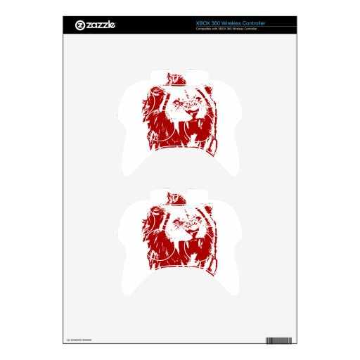 Red Lion King Xbox 360 Controller Skins