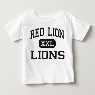 Red Lion - Lions - Junior - Red Lion Pennsylvania Baby T-Shirt