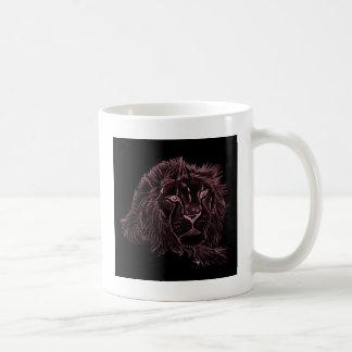 Red Lion Twin design mug