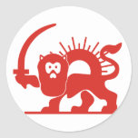 Red Lion With Sun, Iran Stickers