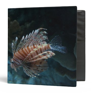 everydaylifesf Red Lionfish Binder