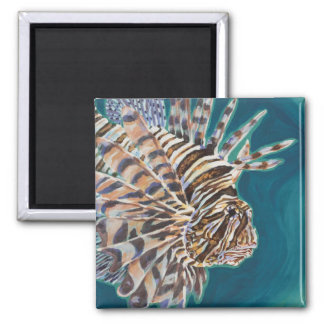 Red Lionfish Magnet