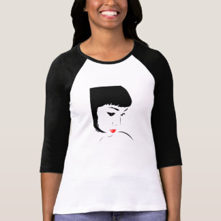 Red Lip Lady T-Shirt