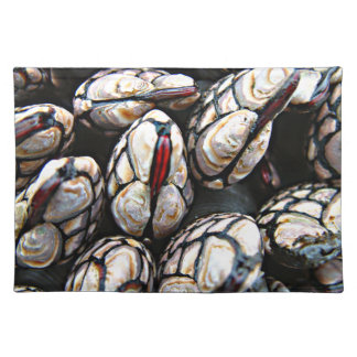 Red Lipped Mussels Placemat