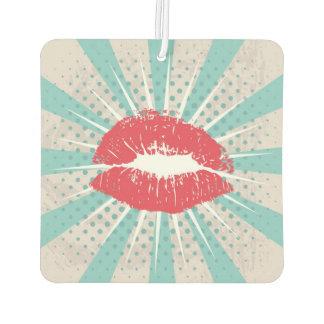 Red lips air freshener