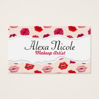 Red Lips Business Card