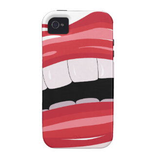 Red lips Case-Mate iPhone 4 covers