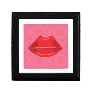 Red Lips Trinket Boxes