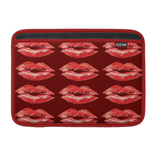 Red Lips Kiss Lipstick Sleeve For MacBook Air