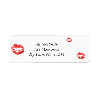 Red Lips Label