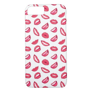 Red Lips Lipstick Iphone Case