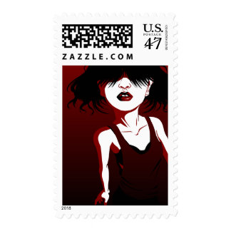 Red Lips Postage