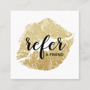 refer a friend business cards zazzle
